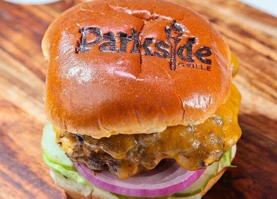 parkside grill burger